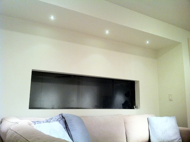 LED Lighting contemporary-basement