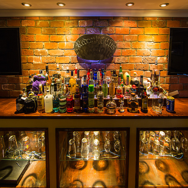 LED Liquor Bar Lighting Basement St Louis By Super