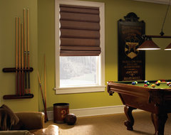 Levolor Classic Roman Shade traditional-basement