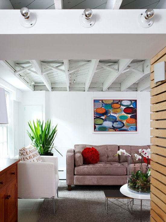 Exposed ceiling home design ideas pictures remodel and decor for Exposed ceiling design