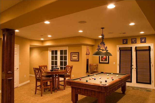 lone tree walk out finished basement with theater wet bar pool table