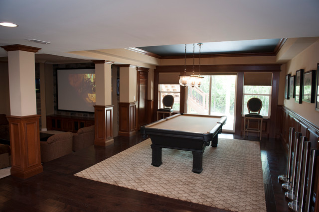 Lower Level traditional-family-room