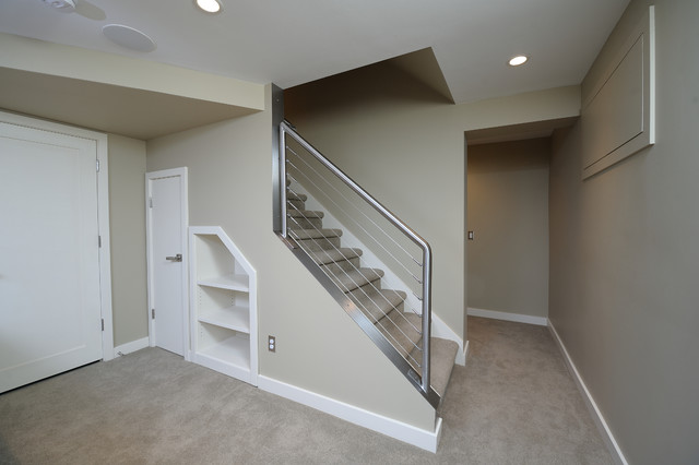 Lower Level Remodel Dehaan Remodeling Specialists