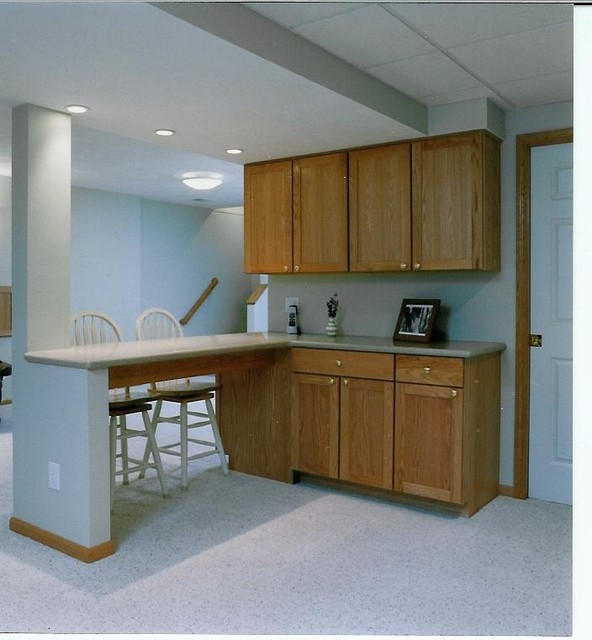 Kitchen Remodel Kalamazoo Mi: Lower Level Remodel DeHaan Remodeling Specialists