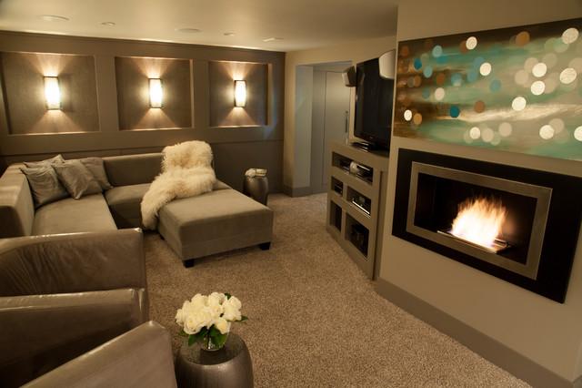 Luxury Basement Renovation