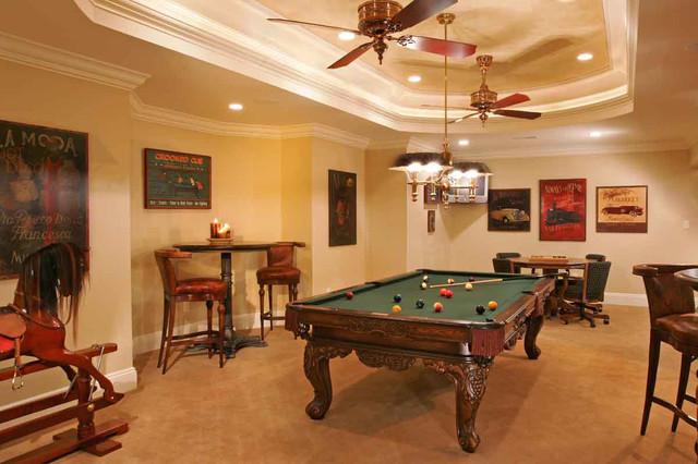 Luxury Basement Traditional Basement Philadelphia