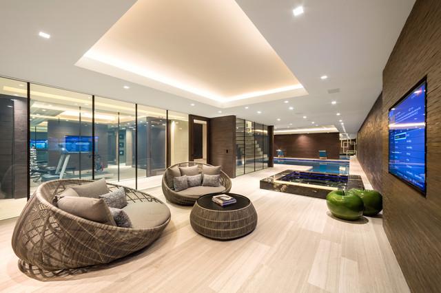 Luxury House Hampstead - Contemporain - Sous-sol - Londres - par ...