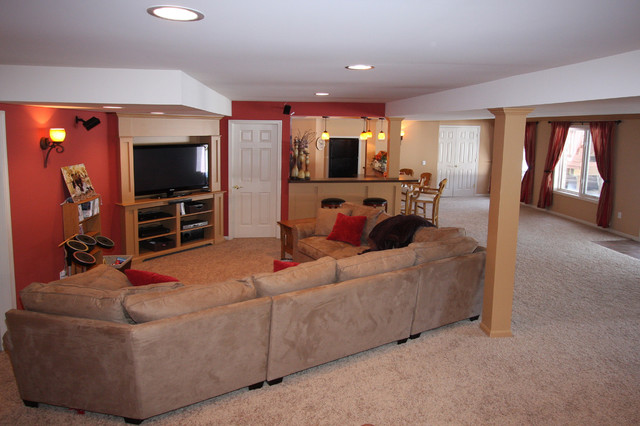 basement apartment before and after. Basement remodeling before and after Apartment Before And After  Thrifty basement home office