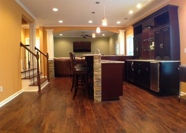 mableton basement traditional basement atlanta by
