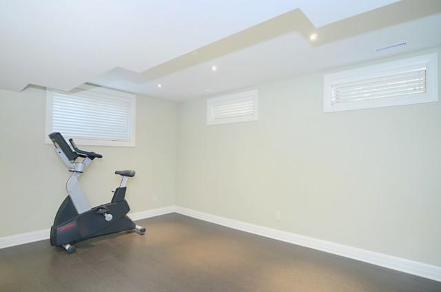 Major Renovation #1 traditional-basement