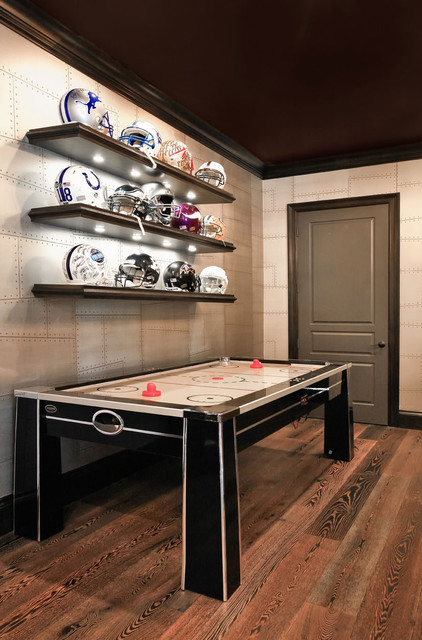 man cave contemporary basement miami by kds interiors inc