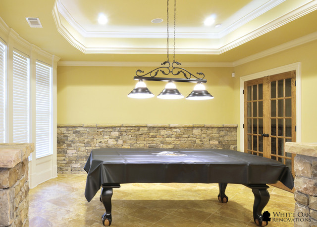 Manor Golf and Country Club Basement Remodel traditional-basement