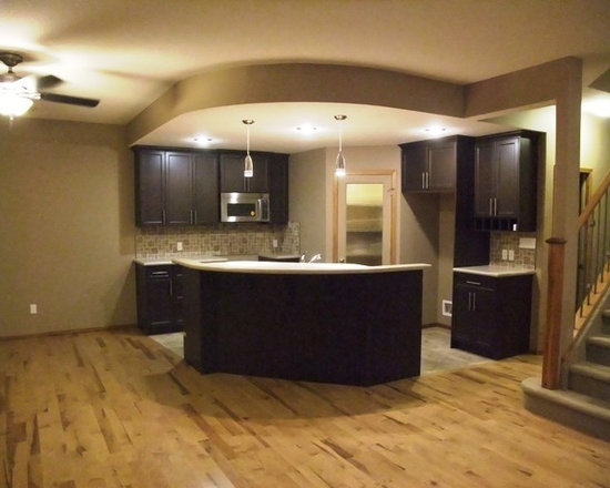 Kitchen Island Basement Design Ideas Pictures Remodel  : contemporary basement from houzz.com size 550 x 440 jpeg 48kB