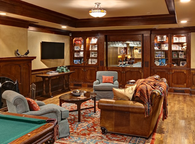 Mn governor s mansion traditional basement