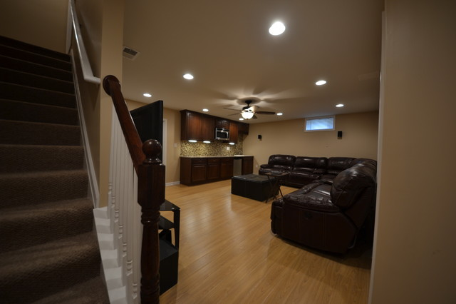 Home Design Ideas Pictures: Finished Basement, Pikesville, MD