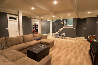 Mullaghmore Drive Traditional Basement Other By