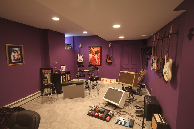 music studio contemporary basement other metro by joseph