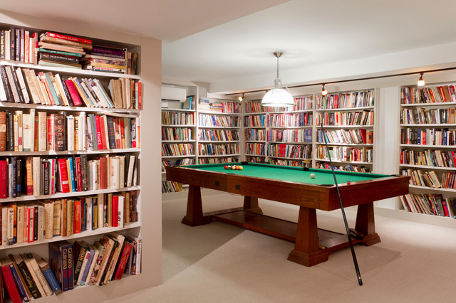 My Houzz: Ellie Sawits eclectic-basement
