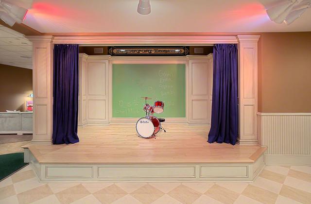 Playroom Curtain Ideas
