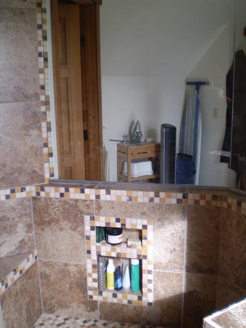 new walk in shower fidalgo island craftsman basement seattle
