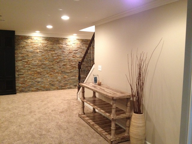 Novi Finished Basement Traditional Basement Detroit By