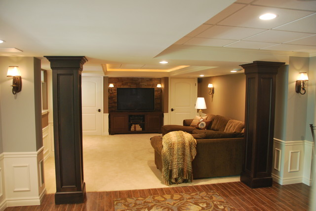 oconnor basement traditional basement