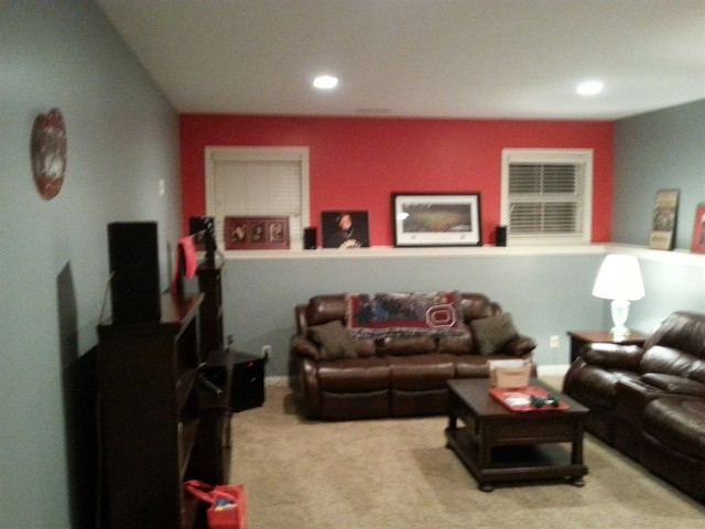 Ohio State Room Before And After Basement Columbus By