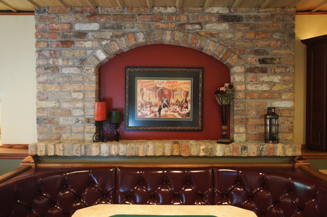 """""""Old Chicago Style"""" basement eclectic-basement"""