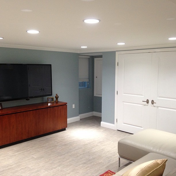 On The Manor contemporary-basement