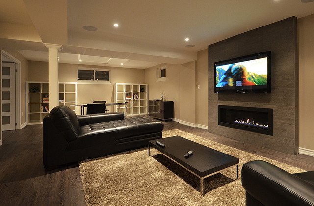 Open Concept Basement Ideas