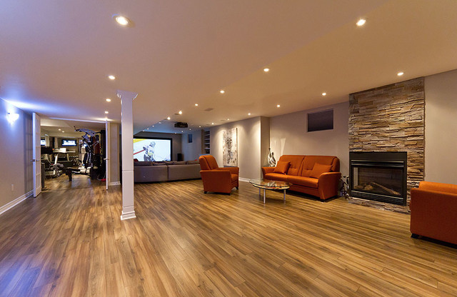 Open concept basement ideas - Finished basements ideas ...