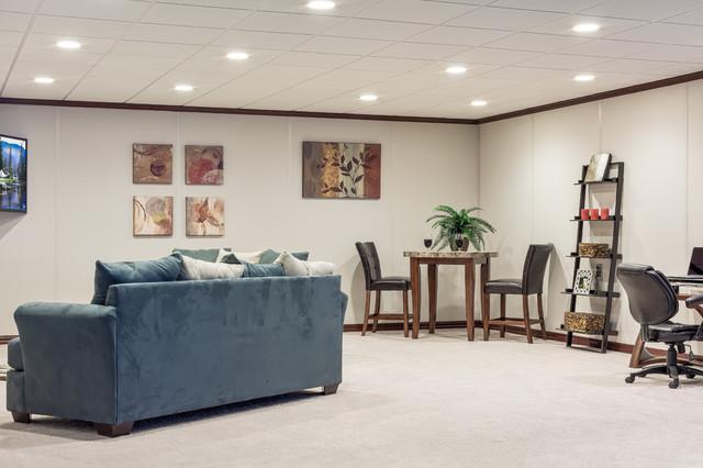owens corning basement finishing system traditional basement