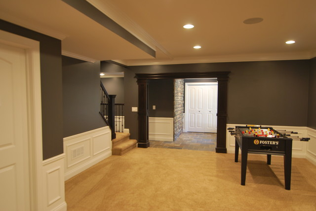 Patrick basement for Best flooring for basement family room