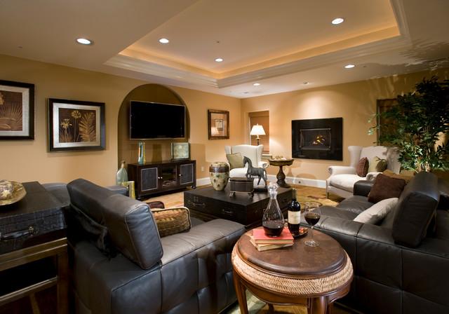 Basement Lighting Recessed Ceiling: Philadelphia Magazine Design Home 2008
