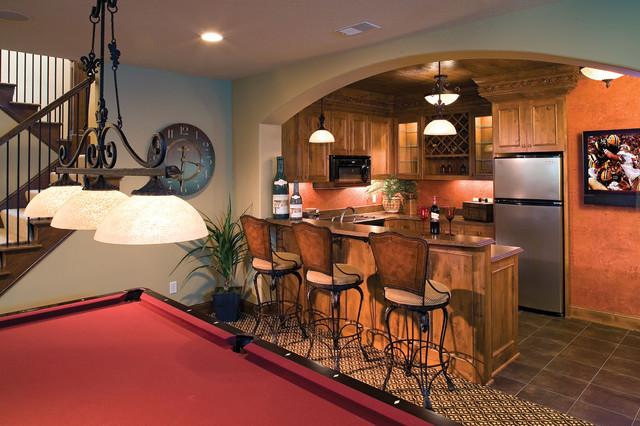 Basement House Designs. Plan  091S 0001 traditional basement Traditional Basement St Louis by House