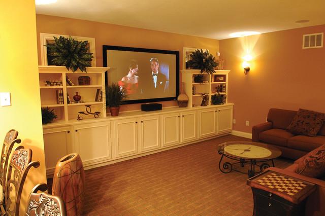 basement house designs. Plan  119D 0003 traditional basement Traditional Basement St Louis by House