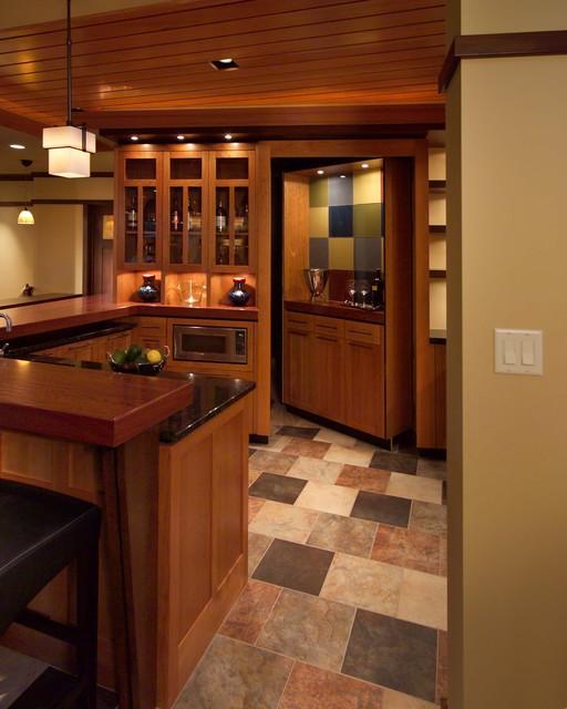Best To Worst Rating 13 Basement Flooring Ideas: Prairie Inspired Lower Level