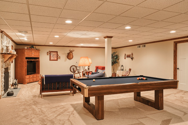 Ranch with open floor plan basement other by metzler for Open floor plans with basement