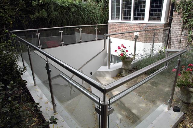 Rear Garden Basement Stairs