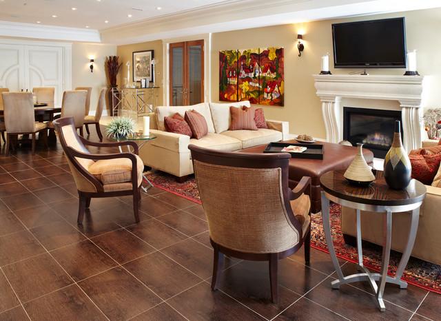 Miraculous Rec Room Contemporary Basement Toronto By Paulinas Inspirational Interior Design Netriciaus