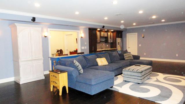 Remodel - Hamerick Basement traditional-basement
