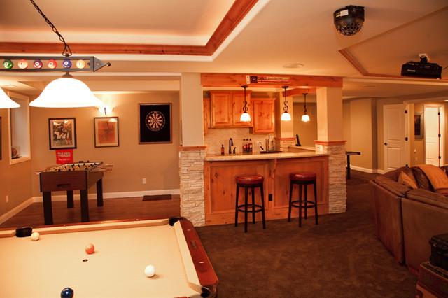 Remodeling ideas - Basement remodeling designs ...
