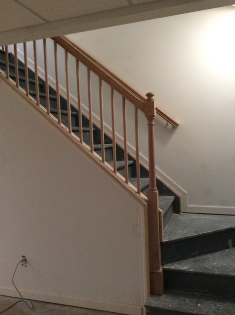 Removable Stair Railing Lake Orion Traditional Bat