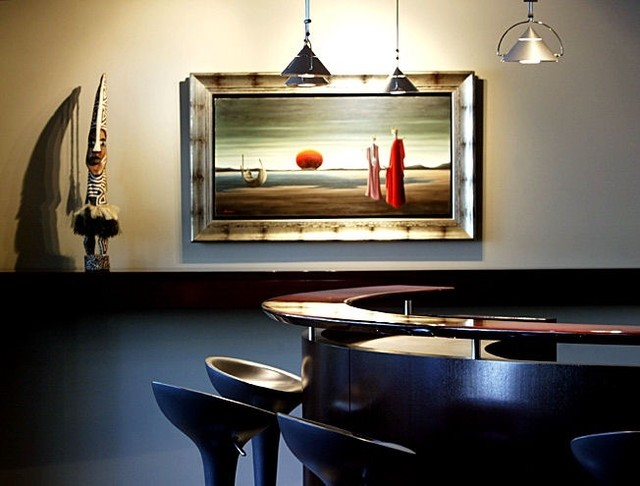 Residential Designs eclectic-basement