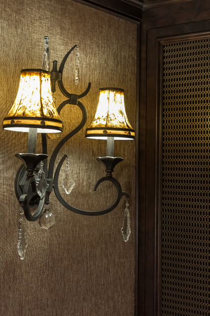 Wall Sconces For Basement : Ridgeview Way Basement Wall Sconce - Traditional - Basement - Minneapolis - by Finished Basement ...