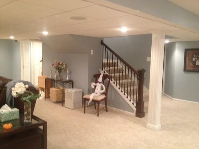 Rochester basement remodel - Basement renovation ideas ...