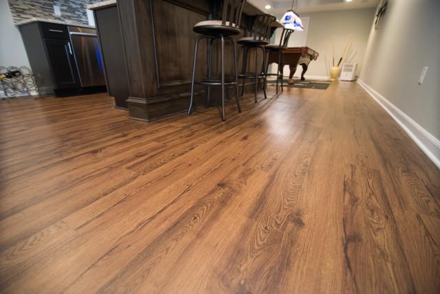 Rochester oakland township basement wood flooring for Oakland flooring