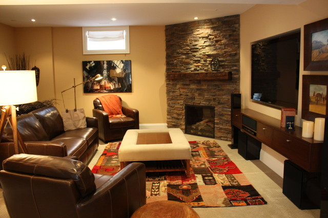 Rosedale Family Home traditional-basement