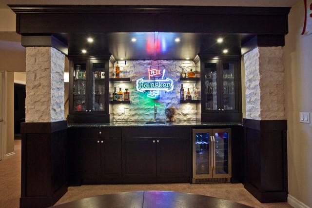 basement sports bar. Schiffner Sports Bar traditional basement  Traditional Basement Calgary by Urban