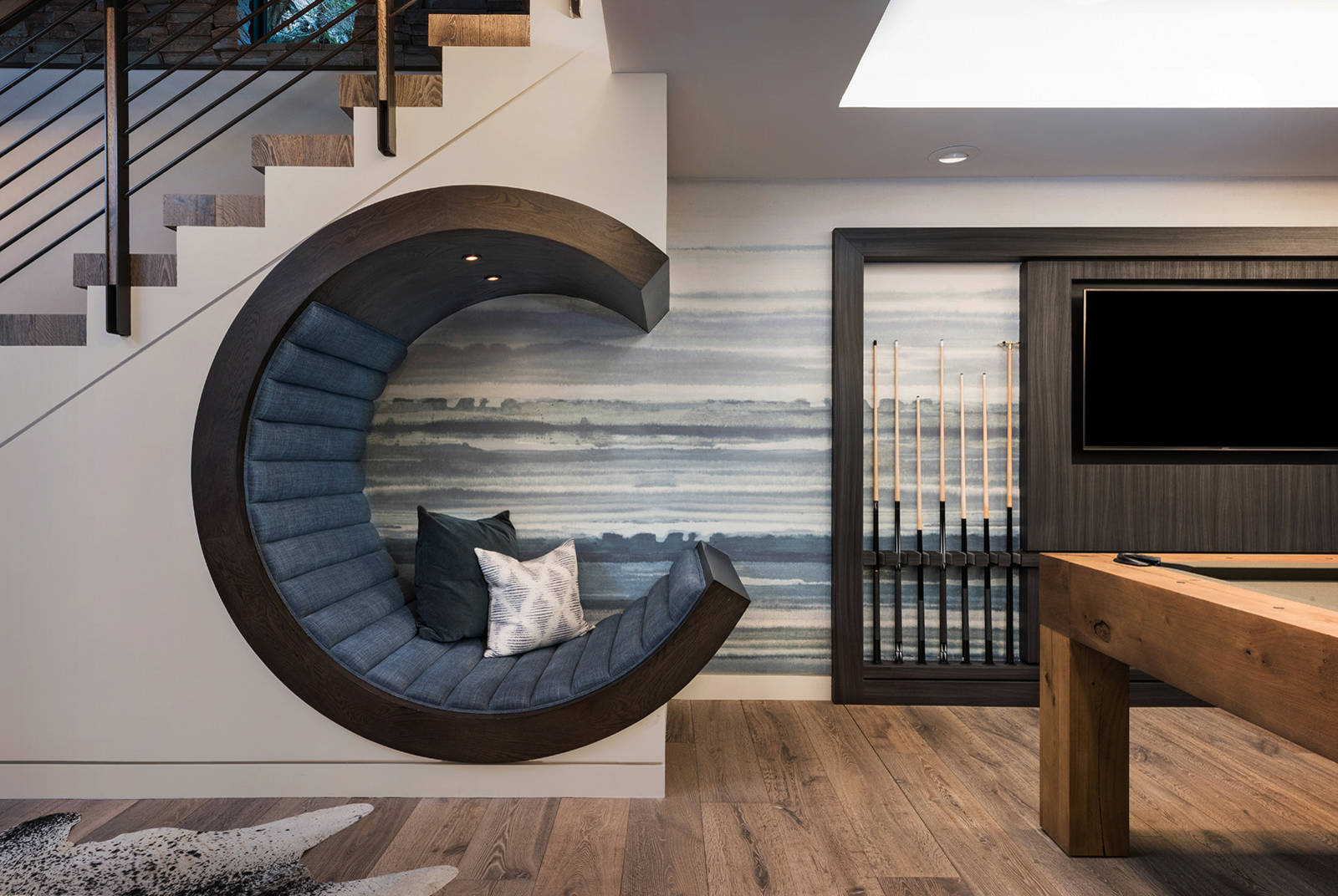 75 Beautiful Basement Game Room Pictures Ideas February 2021 Houzz